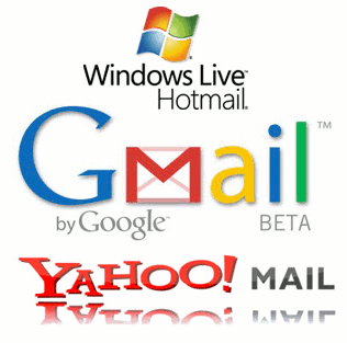 Yahoo-Hotmail-GMail