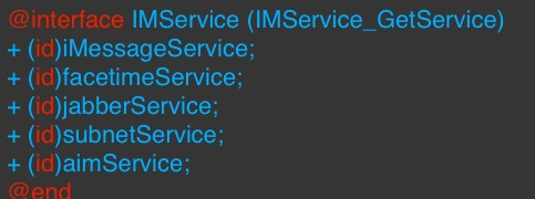 imservice_ios