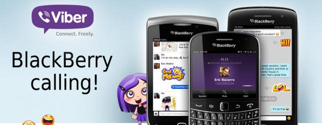 Viber ne BlackBerry ITshqip