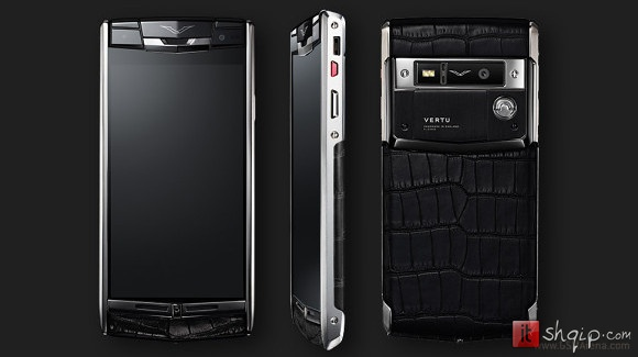 Zyrtare Shpaloset telefoni luksoz Vertu Signature Touch